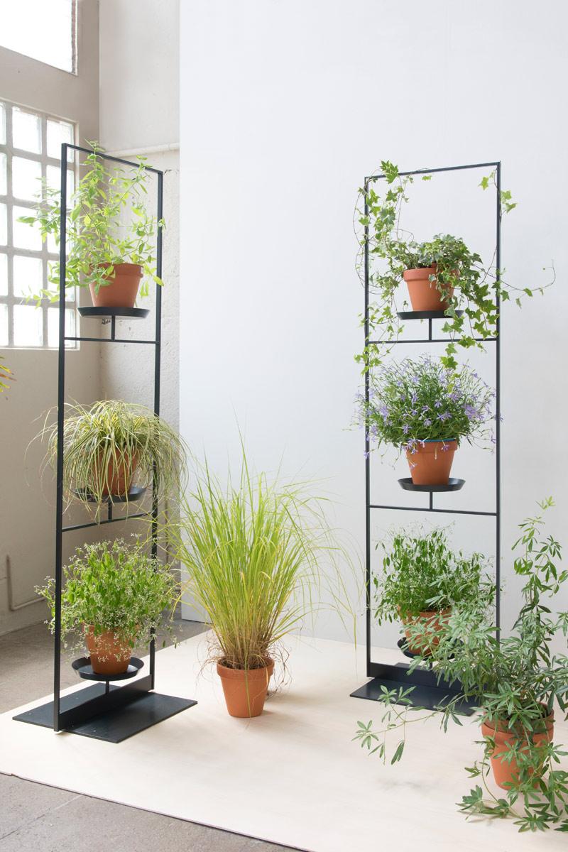 Colonne Étagères Plantes